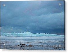 Mackinaw City Ice Formations 21618011 Acrylic Print