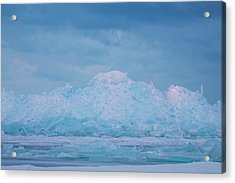 Mackinaw City Ice Formations 2161802 Acrylic Print