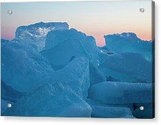 Mackinaw City Ice Formations 2161804 Acrylic Print