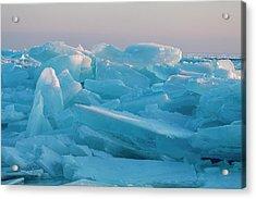 Mackinaw City Ice Formations 2161807 Acrylic Print