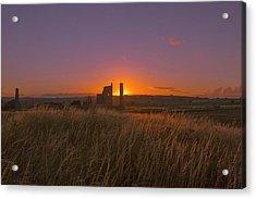 Magpie Mine Sunset Acrylic Print