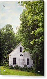 Maine School House Acrylic Print