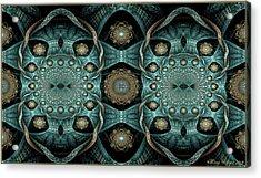 Acrylic Print featuring the digital art Malachi by Missy Gainer