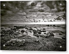 Acrylic Print featuring the photograph Malibu Clouds by John Rodrigues