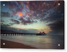 Malibu Pier IIi Acrylic Print
