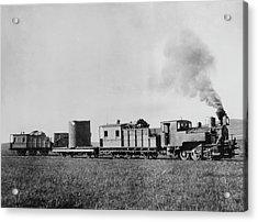 Manchurian Railway Train Acrylic Print