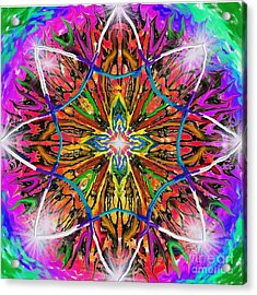 Mandala 12 11 2018 Acrylic Print