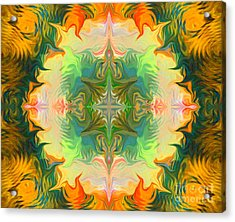 Mandala 12 8 2018 Acrylic Print