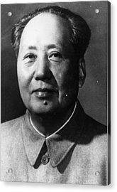 Mao Tse-tung Acrylic Print by Keystone
