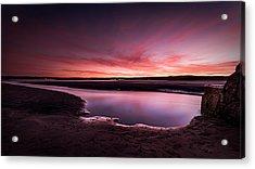 Marazion Sunset Acrylic Print