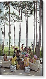 Marbella House Party Acrylic Print