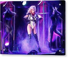 Maria Brink Of In This Moment Acrylic Print
