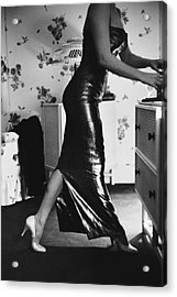 Marilyn Gets Ready Acrylic Print