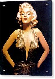 Marilyn Monroe Portrait Acrylic Print by Michael Ochs Archives