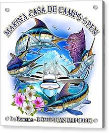 Marina Casa De Campo Open Art Acrylic Print