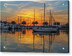 Marina Sunrise-2 Acrylic Print
