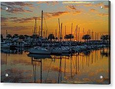 Marina Sunrise-3 Acrylic Print
