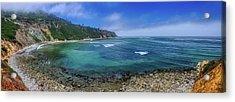 Marine Layer Over Bluff Cove Panorama Acrylic Print