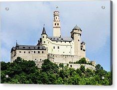 Marksburg Castle Acrylic Print