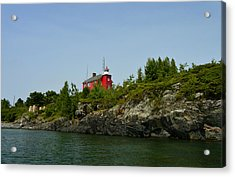 Marquette Michigan Lighthouse Acrylic Print