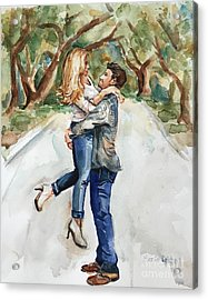 Marry Me Acrylic Print