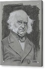 Martin Van Buren Acrylic Print