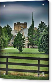 Mary Hall, Berry College Acrylic Print