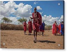 Maasai Welcome Acrylic Print