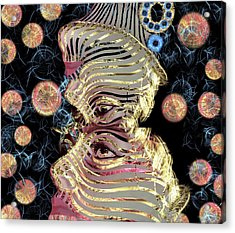 Mask My Minds Eye Acrylic Print