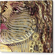 Mask What Hides 2 Acrylic Print