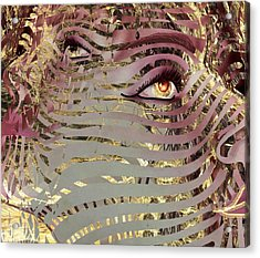 Mask What Hides 4 Acrylic Print
