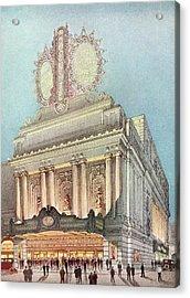 Mastbaum Theatre Acrylic Print