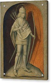 Master Of The Magdalen Legend -attributed To The- -active In Brussels Between Ca. 1480 - 1526-. S... Acrylic Print