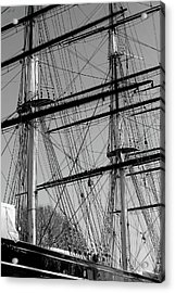 Masts And Rigging Of The Cutty Sark Acrylic Print