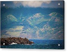Maui Fisherman Acrylic Print