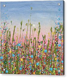 May Bee Acrylic Print