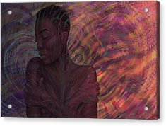 Maya Acrylic Print