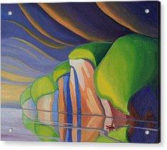 Mazinaw Rock I Acrylic Print