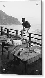 Mcqueen & Adams Relax In Big Sur Acrylic Print