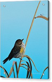 Acrylic Print featuring the painting Meal Time by Peter Mathios