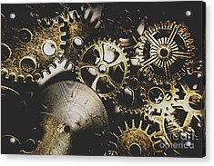 Mechanical Age Acrylic Print