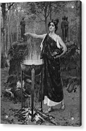 Medea Acrylic Print by Hulton Archive