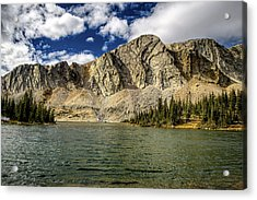 Acrylic Print featuring the photograph Medicine Bow Peak by Chance Kafka