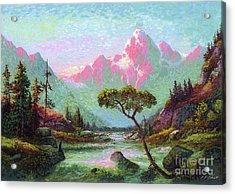 Serenity Meditation Acrylic Print