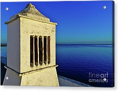 Mediterranean Chimney In Algarve Acrylic Print