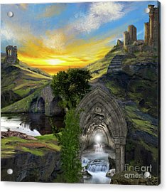 Merlins Cave Acrylic Print