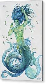 Merman Clyde Acrylic Print