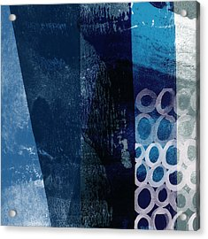 Acrylic Print featuring the mixed media Mestro 6- Abstract Art By Linda Woods by Linda Woods