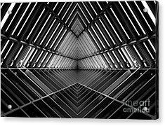 Metal Structure Similar To Spaceship Acrylic Print