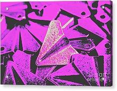 Metal Wings Acrylic Print
